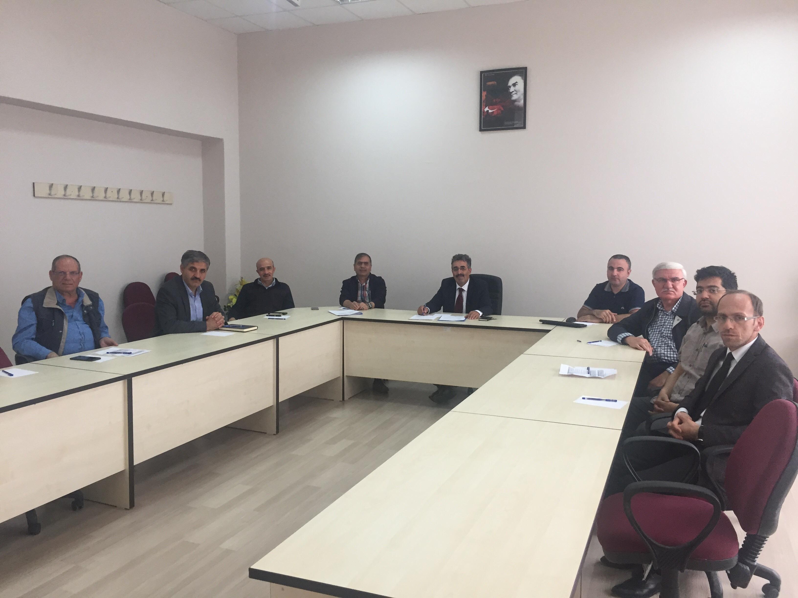 Enstitü kurulu toplantısı yapıldı